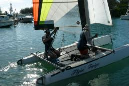 SOLD - Catamaran Nacra 5.7