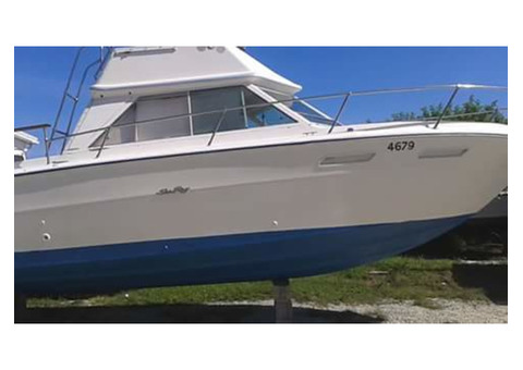 24 Foot Sea Ray Flybridge