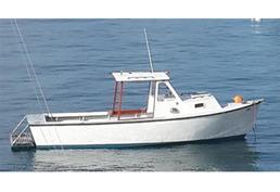 24' Double Eagle diesel inboard fishing boat