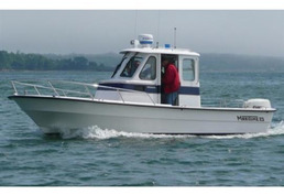 2007 Maritime 23 Voyager with Pilothouse and Cuddy Cabin - US$25,000