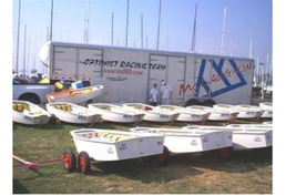 McLoughlin Optimist Dinghy - 2 available