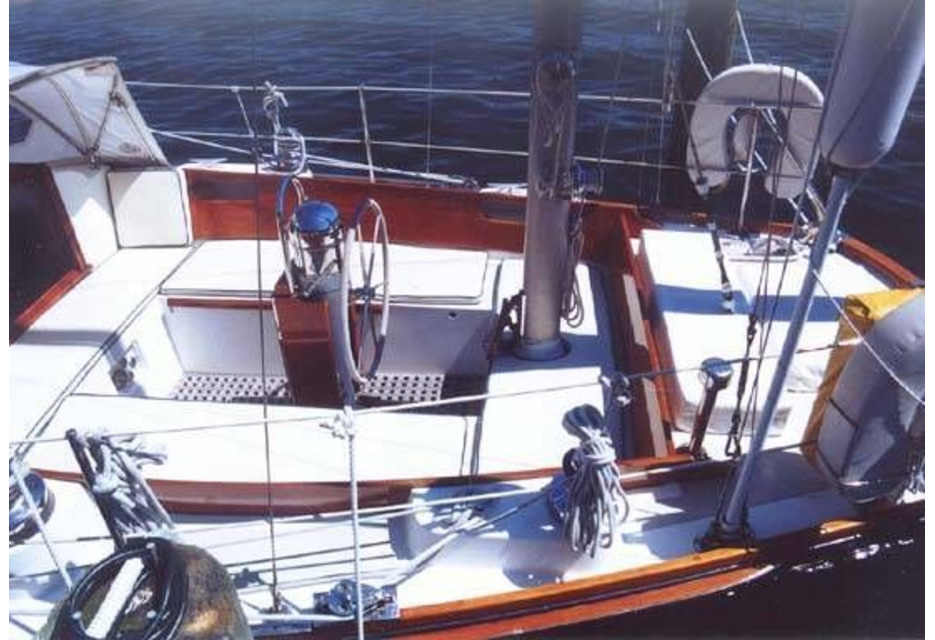 Alice Kay Bermuda 40 Yawl by Hinckley Yachts in Maine