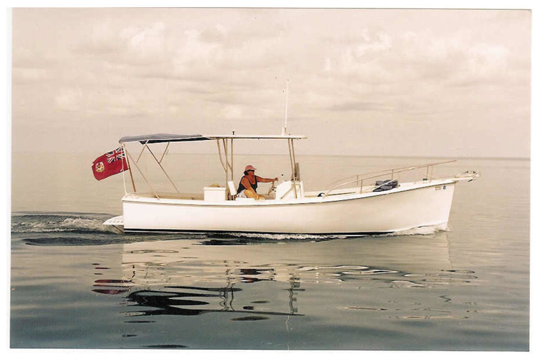 25' Classic Maine Hull Centre Console