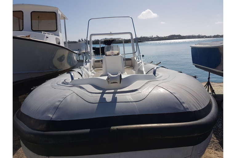 NICE RHIB READY FOR SUMMER