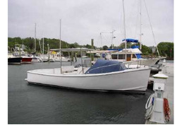 SOLD - 25' Classic Maine Hull Centre Console
