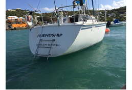 SOLD - Hunter 28.5 sloop with prime Jew's Bay mooring SORRY - SOLD!