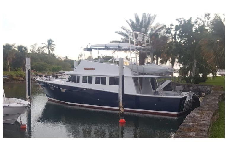 Gorgeous 48' Marine Management Luxury Trawler